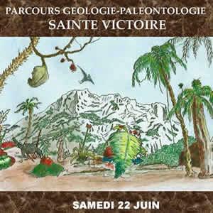 Parcours géologie-paléontologie <br /> Sainte Victoire <br /> le samedi 22 juin 2019