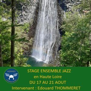Stage ensemble jazz du 17 au 21 août