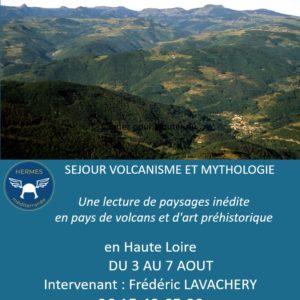 Séjour volcanisme et mythologie du 3 au 7 août