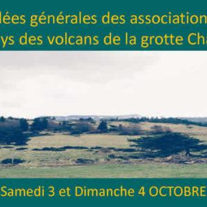 Assemblées générales des associations Tazieff au pays des volcans de la grotte Chauvet